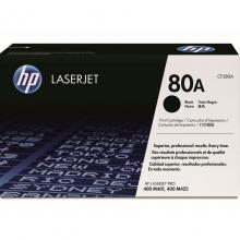 惠普(HP) CF280A 黑色硒鼓 80A(适用HP LaserJetPro 400 M401系列 和400 M425 MFP系列)