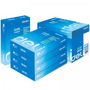 得力(deli)7419 莱茵河复印纸 A4 80g 500张/包 5包/箱 五包装