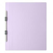 普乐士(PLUS)NO.021N 易装双孔夹/装订报告夹 A4-E/竖式 浅紫 10个/包