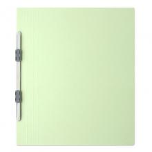 普乐士(PLUS)NO.021N 易装双孔夹/装订报告夹 A4-E/竖式 淡绿 10个/包