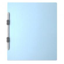 普乐士(PLUS)NO.021N 易装双孔夹/装订报告夹 A4-E/竖式 宝蓝 10个/包