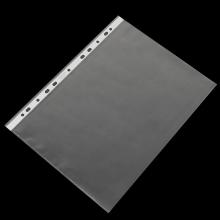 易达(Esselte)356133 复印文件保护套/11孔文件袋/打孔袋 A4/磨砂 厚度0.06mm 100个/盒