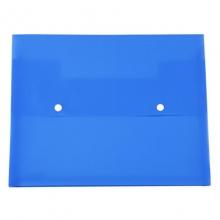 远生(USign) US-F405 双钮扣式文件袋 A4 蓝色(10个装)