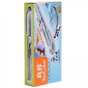 真彩(TRUECOLOR)3031A 大容量中性笔/签字笔 0.5mm 黑色 12支/盒