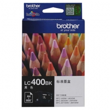 兄弟(brother)LC400BK 黑色墨盒(适用MFC-J430W J825DW J625DW 6710DW 6910DW)