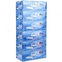 心相印 K120 天鹅系列120抽盒装面巾纸/抽纸 8提/箱