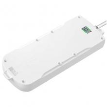 公牛(BULL)GN-604 新国标电源插座/插线板/接线板 过载保护 8位总控 10米