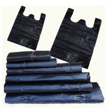 国产 塑料袋/垃圾袋/手提袋/背心袋 60*80cm(黑色)加厚型 50个/包
