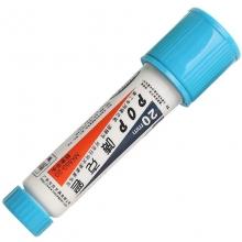 宝克(BAOKE)MK-850-20 唛克笔/POP20广告笔马克笔海报笔记号笔 20mm 浅蓝色